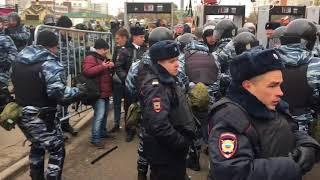 Русский Марш - Задержания (Москва 04.11.2017)