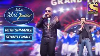 Vishal-Shekhar Give A Mesmerising Performance   Indian Idol Junior   Grand Finale