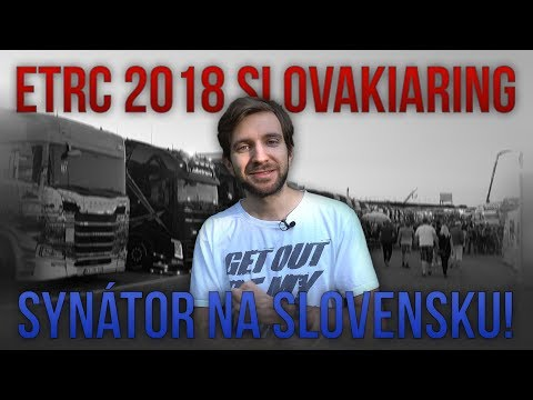 SYNÁTOR NA SLOVENSKU! | European Truck Racing Championship Slovakiaring