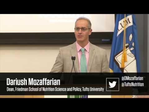 Thumbnail for video: Dariush Mozaffarian Speaks at 2017 Food Tank Summit