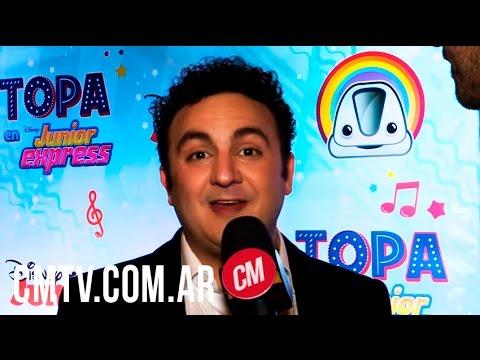 Topa video El gran concierto bajo las estrellas - Entrevista CM 2016