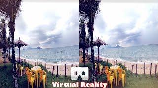 3D GoPro HERO 6 - Footage Test 4K  | 3D Side By Side SBS Google Cardboard VR Box Gear Oculus Rift