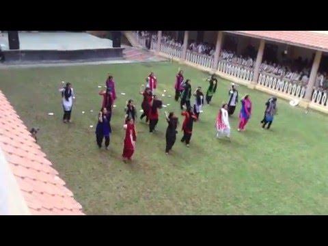 Amrita School of Engineering , Amritapuri Flash mob by rocking CSE girls of 2012-2016 batch....