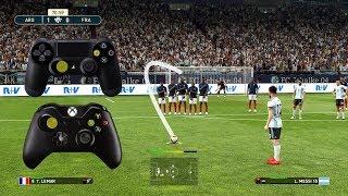 PES 2019 FREE KICK TUTORIAL   Xbox & Playstation   HD 1080p