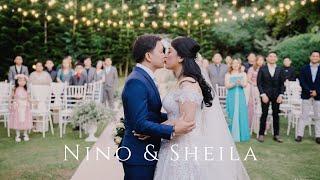 Farm Hills Garden Tagaytay Wedding of Nino and Sheila