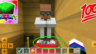 How to trading villagers in lokicraft | Lokicraft villager trade | How to trade with villagers