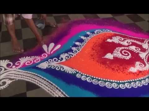 sanskar bharati and diwali rangoli design by kshama bade