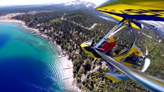 Flying over Lake Tahoe with Paul Hamilton