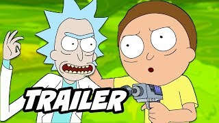 Rick and Morty Season 4 Official Teaser Trailer and Release Date Breakdown
