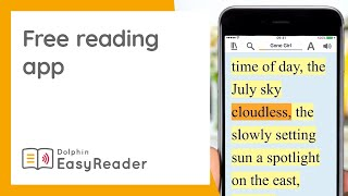 EasyReader for Education, on IOS and Android