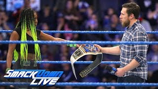 Naomi is forced to relinquish the SmackDown Women