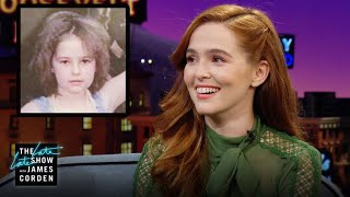 Zoey Deutch Calls for the Return of Crimpers