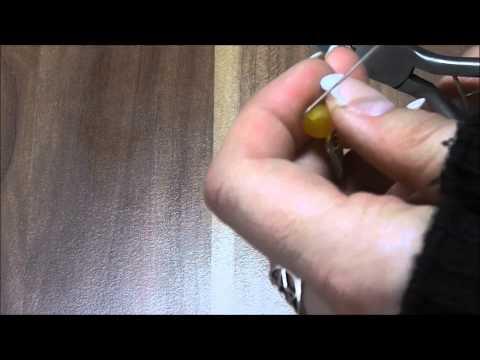 D.I.Y. Anleitung: Schutzengel Anhänger selbermachen (Perlenschmuck-MG) [HD]