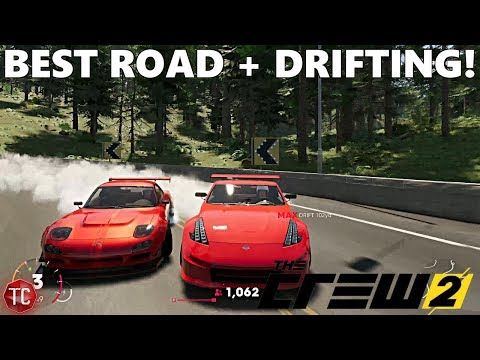 The Crew 2: Finding The GREATEST DRIVING ROAD!? - MULTIPLAYER DRIFTING GAMEPLAY!