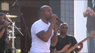 "R&B Singer Tank Performs ""One Man"" Live @ Baldwin Hills Crenshaw Plaza 2013"