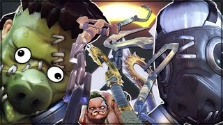 HOOK WARS - Overwatch Custom Game Mode Shenanigans!
