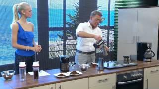 Cucina di Modena Espressokocher für Induktion/Gas/Ceran,  6 Tassen