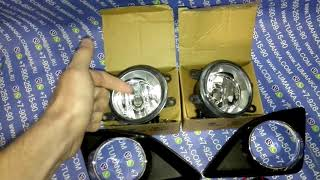 Комплект противотуманных фар Toyota Corolla E150 06-08
