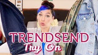 TRENDSEND by Evereve Unboxing and Try On | Fashion