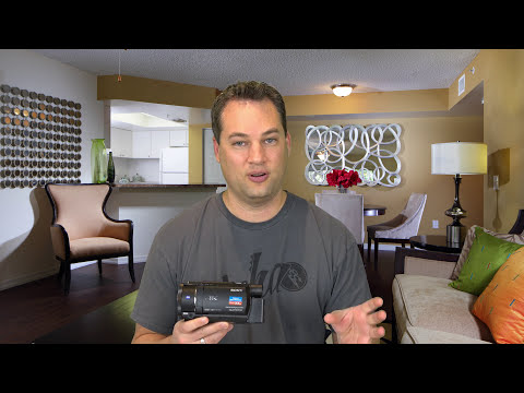 Sony FDR-AX53 4K High End Consumer Video Camera Review