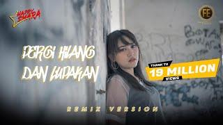 HAPPY ASMARA - PERGI HILANG DAN LUPAKAN [ Dj Angklung Full Bass ] ( Official Music Video )
