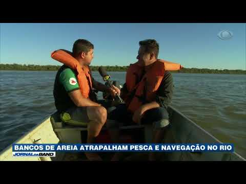 Rio São Francisco está ficando mais seco e estreito