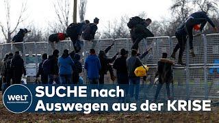SITUATION ESKALIERT: Zehntausende Flüchtende an den griechischen Grenzen