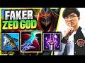 FAKER BRINGS BACK HIS ICONIC ZED! 👑FAKER THE ZED GOD!👑 - T1 Faker Plays Zed Mid vs Lissandra!