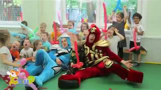 Детский праздник ЛЕГО с аниматорами НиндзяГО