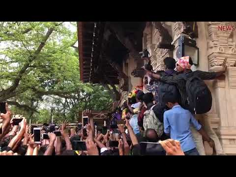 Fans throng as celebrity elephant kickstarts Thrissur Pooram