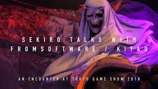 SekiroTalks,withFromSoftwaresKitao-anencounteratTGS2018