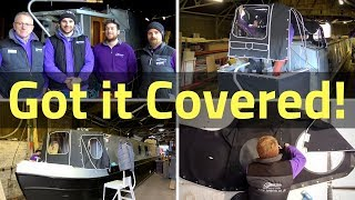 34. Making and Fitting Our Narrowboat Cratch and Pram Covers
