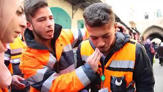 İşgalci İsrail güçleri Filistinli Müslümanlara saldırdı!