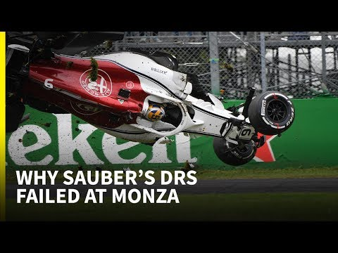 Why Sauber's DRS failed at Monza