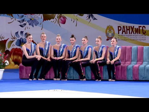, title : 'Ladybirds (EST) | Short program Junior AGG | IFAGG B-category competition MOSCOW FLOWERS | PRELIM