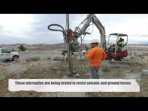 Micropile Testing in Sparks, NV 89436