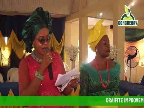 Nkechi Muoneke trills OIU WOMEN Lagos during their 2019 LOVE FEAST celebration