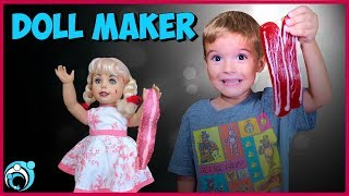DollMaker Video How to Get Our Sister Back Gummy Vs Real Thumbs Up Family