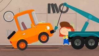 Мультфильм про автосервис и эвакуатор. Доктор Машинкова.