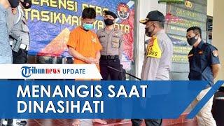 Remaja Putus Sekolah yang Curi Mobil Keluarga Polisi Menangis saat Dinasehati Kapolresta Tasikmalaya