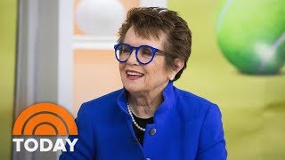 Billie Jean King On 'Battle Of The Sexes': Bobby Riggs 'Was One Of My Heroes'   TODAY