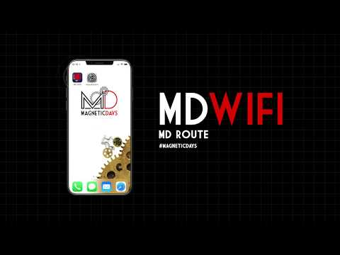 Tutorial App MD WiFi – MD Route