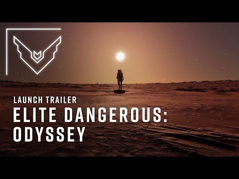 Elite Dangerous Odyssey's Launch Trailer Is Here