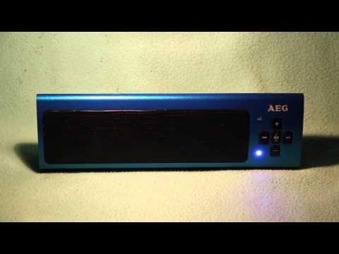 AEG bss 4818 bluetooth sound system ( test )