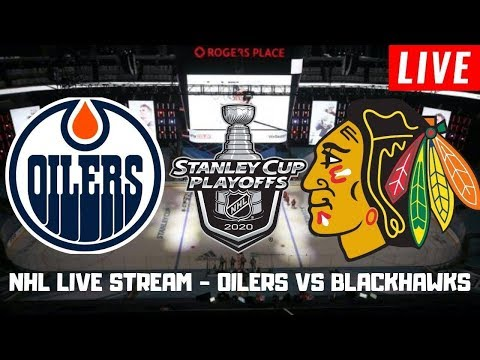 Edmonton Oilers vs Chicago Blackhawks Game 3 Live | Stanley Cup Playoffs Play by Play Stream