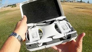 Sunly Alpha Cam GPS 4K Selfie FPV Camera Drone Flight Test Review
