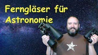 Ferngläser für Astronomie-Einsteiger (und Naturbeobachtung)