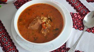 Суп харчо из говядины — видео рецепт