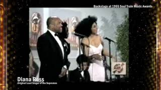 Diana Ross Backstage At The Soul Train Awards | What's The 411 | Music