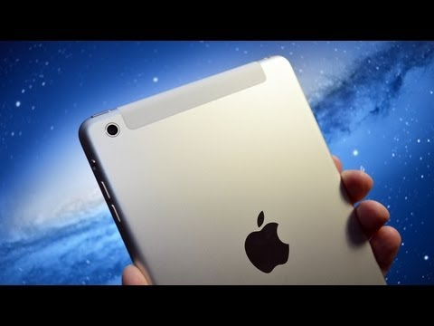 Apple iPad mini (WiFi+Cellular LTE 4G): Unboxing & Speed Demo